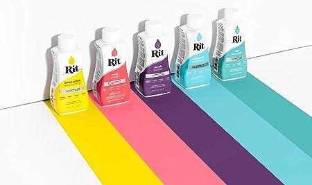 Rit Dye 43327 Purpose Liquid Dye, Black, 8 Fl Oz