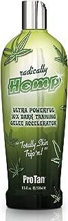 Pro Tan Radically Hemp Ultra Powerful 10X Dark Tanning Gelee Accelerator 8.5 oz