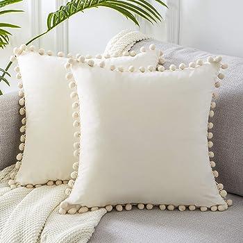 "New Set of 4 x 14/"" 16/"" 18/"" 20/"" 22/"" Cushion Covers Lime Green Grey Black Handmade"