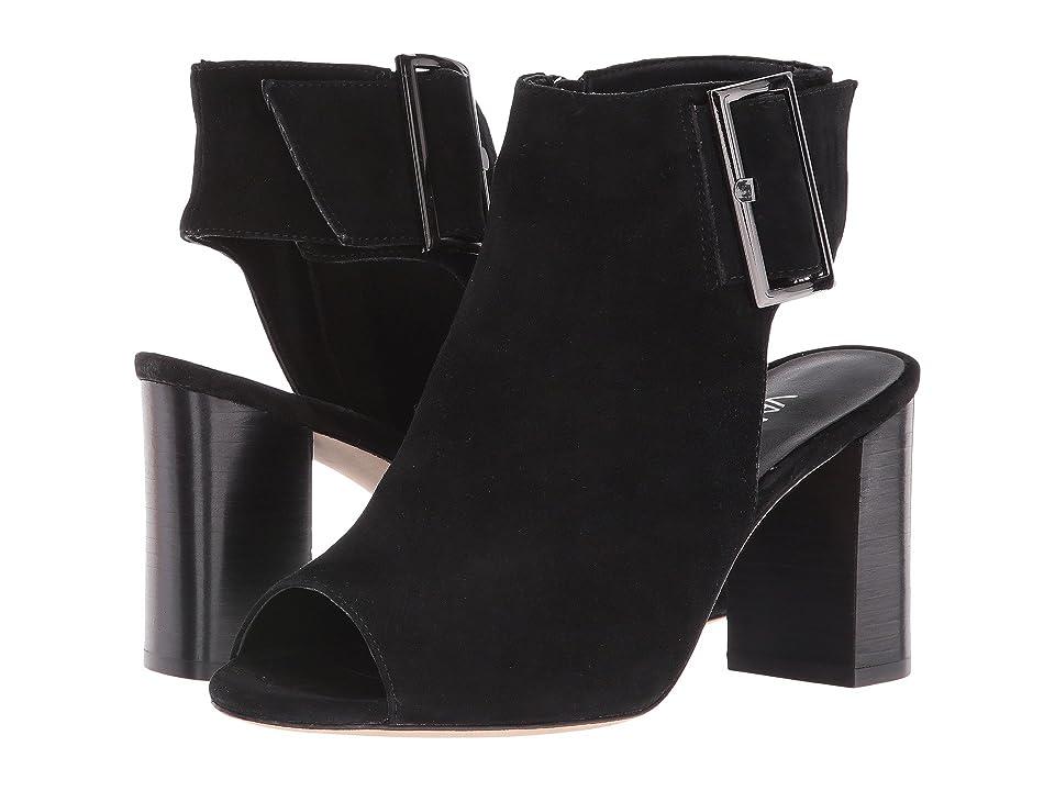 Vaneli Bisa (Black Suede) High Heels