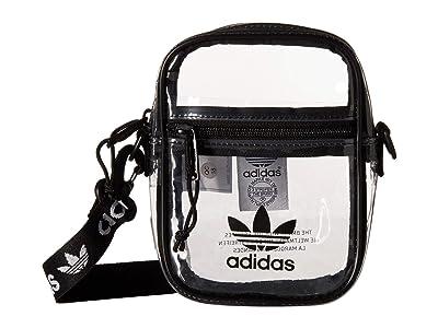 adidas Originals Originals Clear Festival Crossbody (Black) Cross Body Handbags