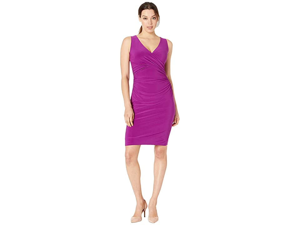 LAUREN Ralph Lauren Jamionn Dress (Vivid Violet) Women