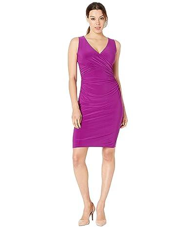 LAUREN Ralph Lauren Jamionn Dress (Vivid Violet) Women
