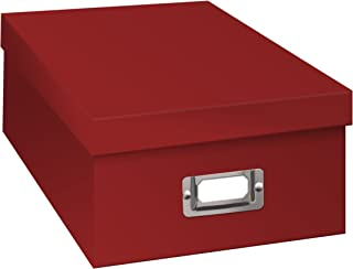 Pioneer Photo Albums B-1S/RD Photo Storage Box - Bright Red