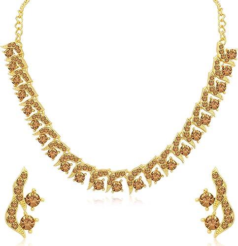 Wedding Jewellery Jewellery Set for Women Brown N79827 D1