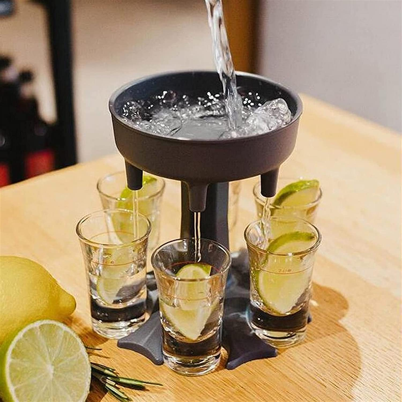1pc 6 Shot San Antonio Mall New popularity Drink Liquor Dispenser Drinking Wine Beer Decante Bar
