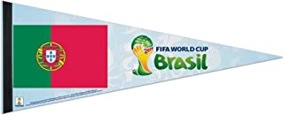 WinCraft Portugal FIFA World Cup Brasil Pennant and Banner