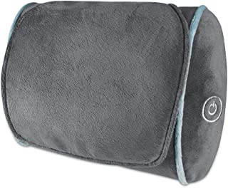 Thera-P Shiatsu Massage Pillow  Full Body Pillow  Deep Tissue Kneading Neck, Back, Lumbar, Shoulder, Leg Massager  4 Rotating Nodes  Plush Soft Design  HoMedics