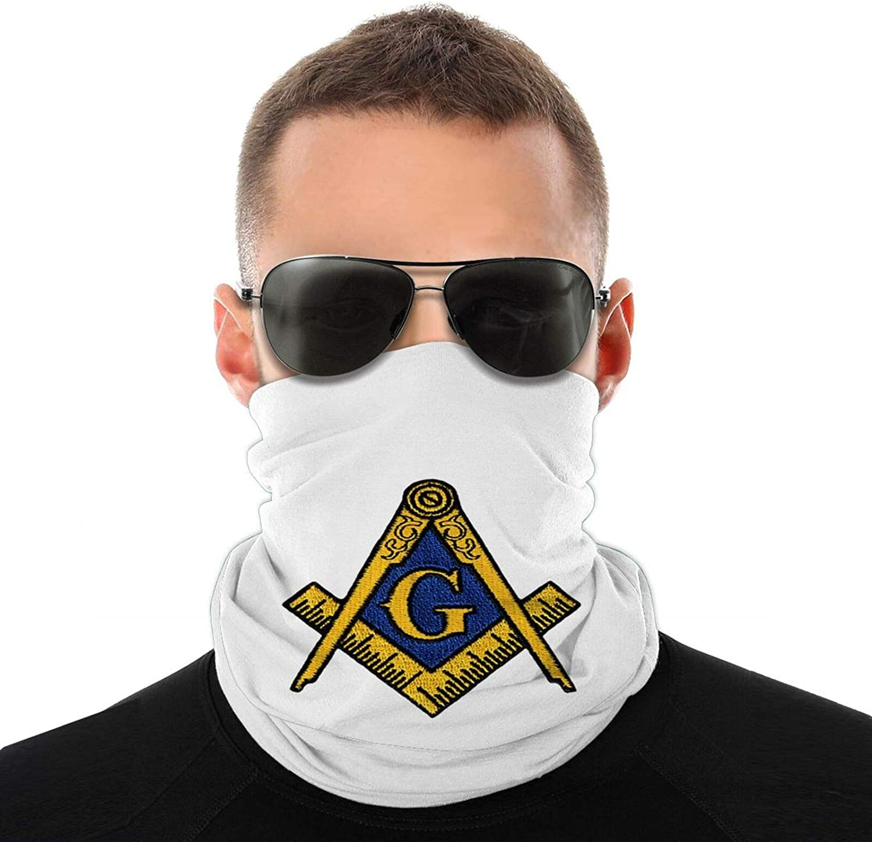 USA Mason Flag Gainesville Masonic Neck Gaiter Face Mask Cooling Breathable UV Shield Balaclava Bandanas Headband for Women Men