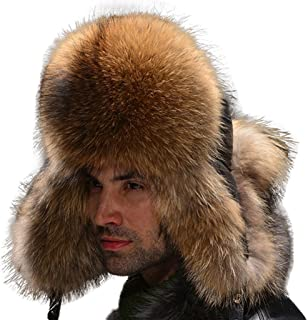 85e5193339771 Fur Story Trapper Hat with Sheep Leather Earmuffs Warm Winter Fur Bomber Hat