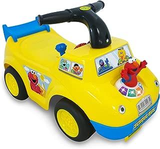 Sesame Street Elmo School Bus Ride-On