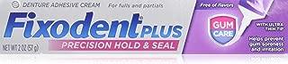 Fixodent Plus Denture Adhesive Cream 2 oz (Pack of 4)