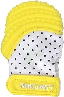 Munch Mitt MINI Teething Mitten - Preemie/Petite Size (Yellow)