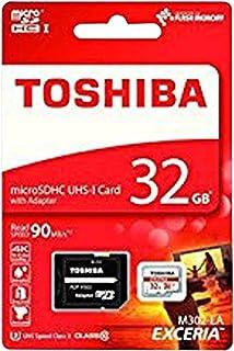 بطاقة ذاكرة توشيبا مايكرو اس دي 32 جيجا
