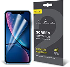 Olixar for iPhone XR Screen Protector Film - Anti-Scratch, Bubble Free, HD Clear Clarity TPU Flexible Film Full Coverage Case Friendly - Easy Application - Clear