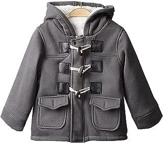 HUMMIJA Baby Boys Winter Warm Cotton Fleece Jacket Outerwear Duffle Coat