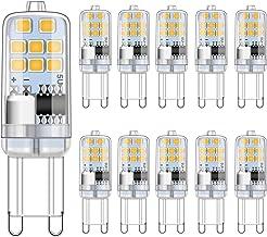 G9 LED-lamp 2W warm wit 3000K komt overeen met 15W 20W halogeenlampen, geen flikkering G9-gloeilampen, niet dimbaar, G9-fi...