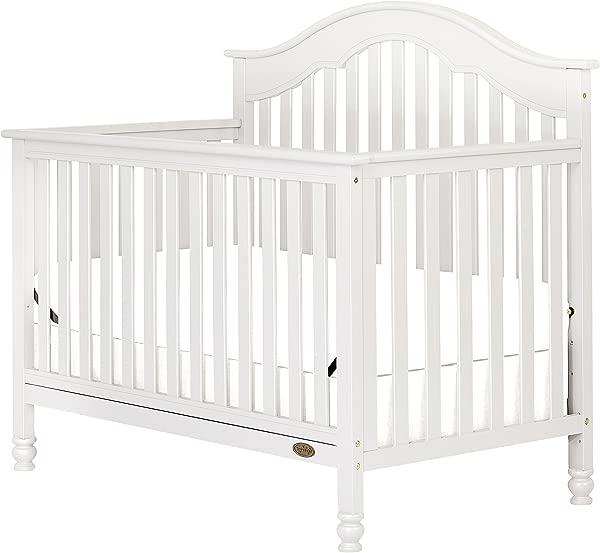 Dream On Me Charlotte 5 In 1 Convertible Crib White