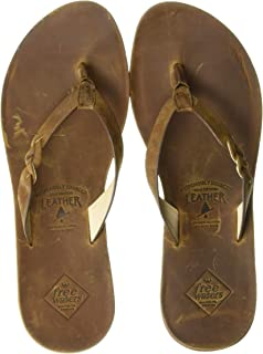 Freewaters Women's Sedona Responsibly Sourced Premium Leather Sandal Flat