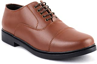 XY HUGO Leather Police Shoe, School Shoes, Shoes for Hotel Staff for Men's