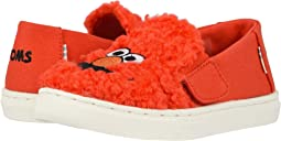 Red Elmo Faux Shearling Face/Canvas