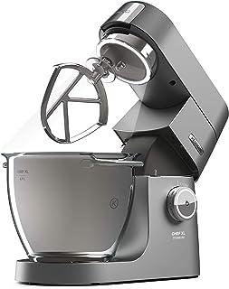 Kenwood Chef Titanium XL Kitchen Machine, 6.7 Litre, 1700W, Silver, KVL8472S- Best Home Baking Machine for Complete Family