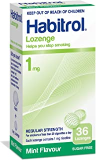Habitrol Nicotine Lozenge Mint Flavor 36 Lozenges (1mg)