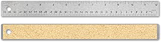 Alumicolor Flexible Stainless Steel ruler, measuring tool, 12IN