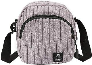 Women Shoulder Bags Corduroy Crossbody Bags Simple Mini Satchel Bags