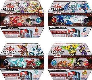 Bakugan Baku-Gear Pack mit 4 Armored Alliance Bakugan ( 2 Ultra & 2 Basic Balls) und..