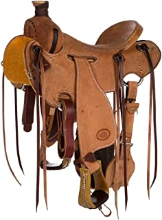 NRS Competitor Series Heavy Oil Roughout Strip Down Ranch Roping Saddle