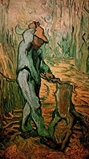 The Woodcutter after Millet - Van Gogh 1000 Pieces Wooden Jigsaw Puzzles for Adults Puzzles 300/500/1000 Piece Jigsaws for...