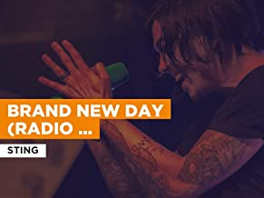 Brand New Day (Radio Version) in the Style of Sting