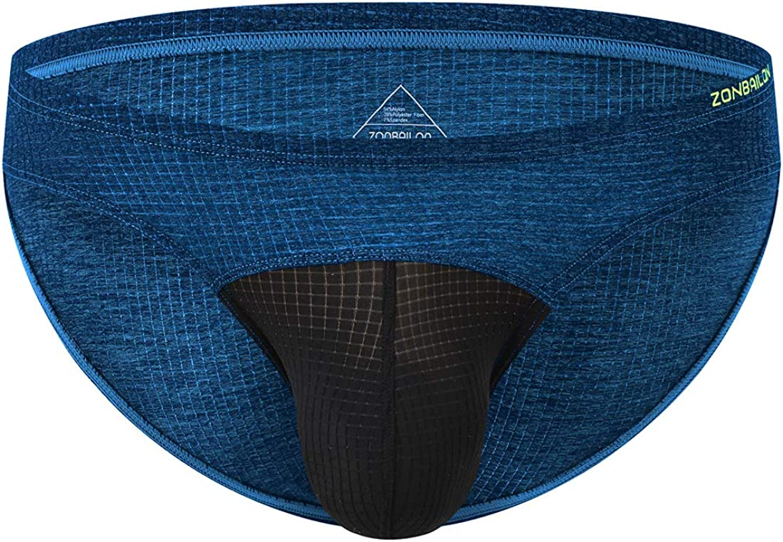 Mens Briefs Underwear Pack Sexy Pouch Soft Low Rise Bulge Enhancing Brief Bikini for Men M L XL XXL