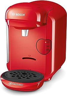 comprar comparacion Bosch TAS1403 Tassimo Vivy 2 - Cafetera Multibebidas Automática de Cápsulas, Diseño Compacto, color Rojo