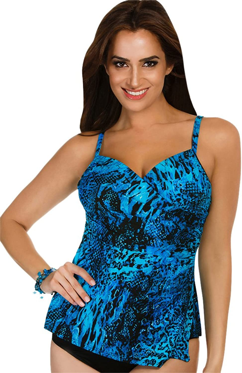 Miraclesuit Women's Off The Scales Paramore Tankini Top