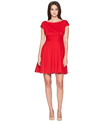 Kate Spade New York Ponte Fiorella Dress (Lingonberry) Women