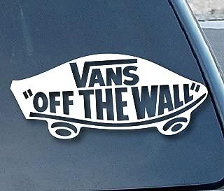 Vans Off the Wall Car Window Vinyl Decal Sticker 6