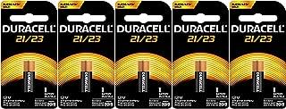 Duracell A23 MN21 21/23 23A MN21B 12 Volt Duralock Alkaline Batteries x 5