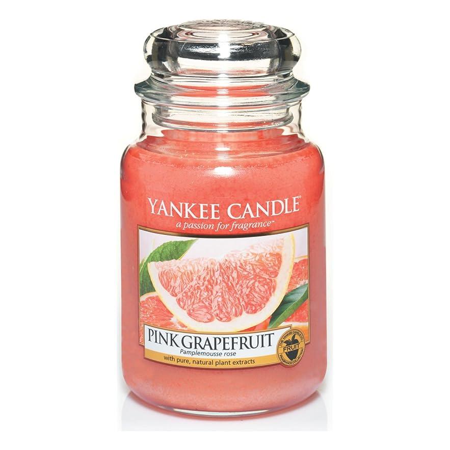 軽くお茶貨物Yankee Candle Large Jar Candle, Pink Grapefruit by Yankee Candle