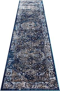 Masada Rugs Oriental Vintage Distressed Area Rug Rafael Collection (32 Inch X 10 Feet Runner)