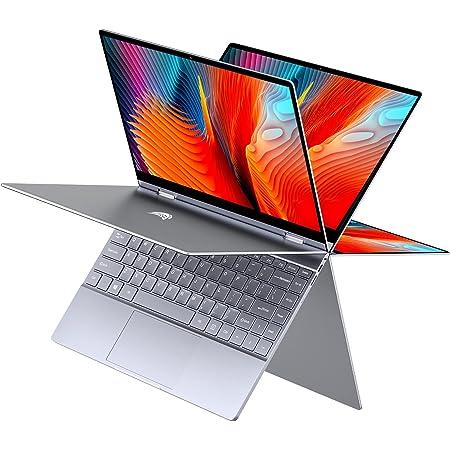 "BMAX Y13 2 en 1 Ordenador portátil, táctil Convertible Notebook de 13.3"" FHD 1080P Pantalla (Intel Quad Core N4120, 8GB RAM, 256GB SSD, Windows 10)"
