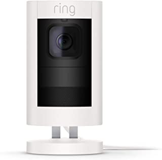 Ring Stick Up Cam Elite Power over Ethernet HD Security Camera with Two-Way Talk, Night Vision, White, Works with Alexa