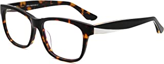 women men fashion individual leg design clear lens eyeglasses