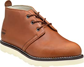 Golden Fox Men's American Heritage Work Chukka Boot with Lightweight Oil Resistant Wedge Sole for Construction
