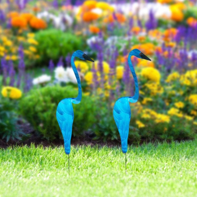 Swirl Bird Garden Decoration,Yard Wind Spinners A Whimsical and Dynamic Bird That Spins,The Slight Garden Breeze Metal Garden Ornaments Creative Metal Wind Spinner for Patio Lawn Garden Art