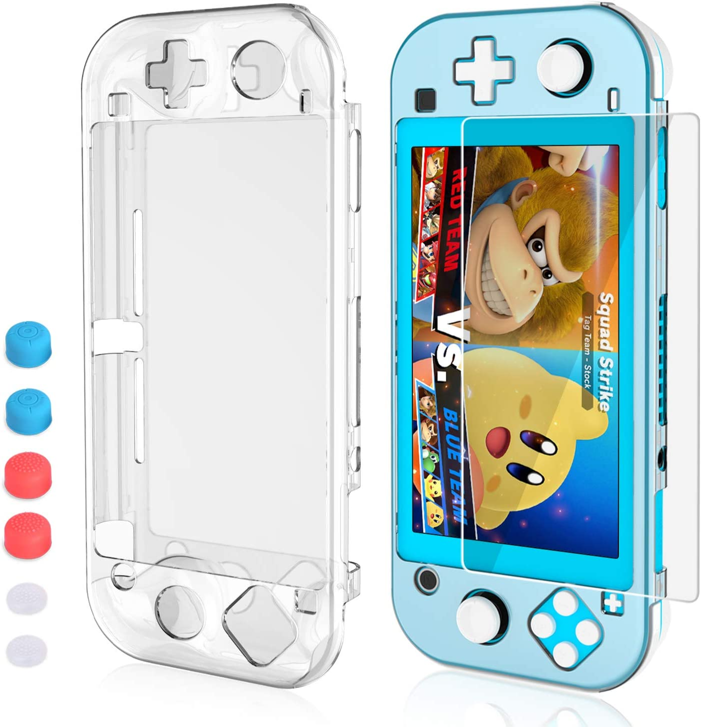 HEYSTOP Compatible Nintendo Ranking TOP17 Switch SEAL limited product Lite with Screen Protect Case