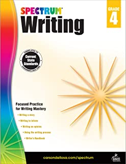 Spectrum | Writing Workbook | 4th Grade, 144pgs