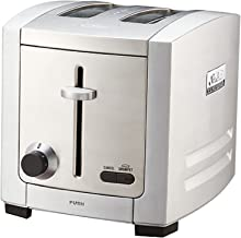 Sunbeam TA9200 Cafe Series 2 Slice Toaster, Stainless Steel