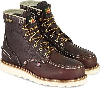 "Thorogood 1957 Series Men`s 6"" Moc Toe, MAXwear Wedge Waterproof Safety Toe Boot"
